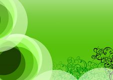 Free Greenish Floral Background Stock Photography - 4582272