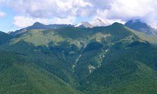 Snows At Mountain Tops