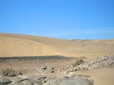 Free Namibi - Landscape Sand Dunes Royalty Free Stock Photos - 4582888