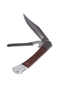 A Penknife With A Saw Royalty Free Stock Photography