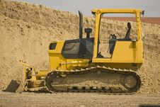 Free A Little Bulldozer Stock Image - 4584001