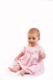Little Baby Girl Royalty Free Stock Images