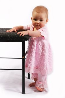 Free Little Baby Girl Stock Photography - 4585122