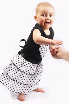 Free Little Baby Girl Royalty Free Stock Images - 4585419