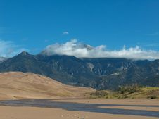 Free Colorado Great Sand Dunes NP Royalty Free Stock Photography - 4587217