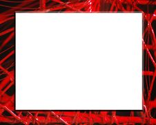 Free Red Abstract Frame Royalty Free Stock Images - 4587599