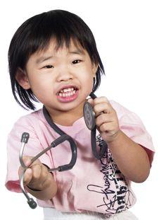 Free Stethoscope- Royalty Free Stock Images - 4587739