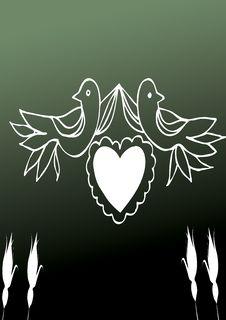 Free Doves Royalty Free Stock Photo - 4588295