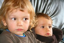Free Two Young Boys Stock Photos - 4588593