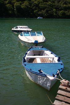 Boats Docked Royalty Free Stock Images