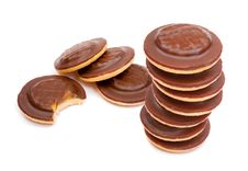 Free Chocolate Biscuits Tower Stock Photography - 4588832