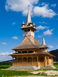 Free Wood Church Stock Image - 4588891