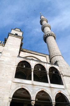 SultanAhmet (blue) Mosque, Istanbul, Turkey. Royalty Free Stock Images