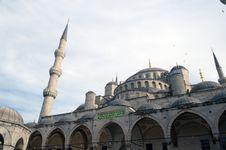 SultanAhmet (blue) Mosque, Istanbul, Turkey. Stock Photo