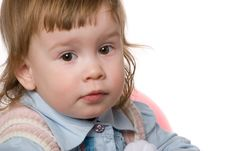 Free Adorable Baby Girl Stock Photo - 4589480