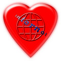 Free Love To The Internet Stock Images - 4598684