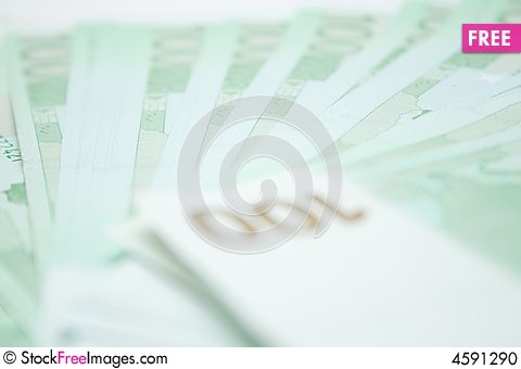Free 100 Euros Banknotes Stock Photo - 4591290