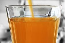 Free Glass Of Orange Juice Stock Image - 4590331
