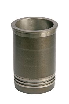 The Piston Of The Engine Stock Image