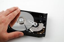 Free Hard Drive Interior Royalty Free Stock Photo - 4590425