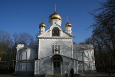 Free Russian Church Royalty Free Stock Image - 4591366