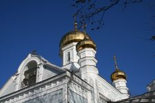 Free Russian Church Royalty Free Stock Photography - 4591387