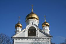 Free Russian Church Stock Image - 4591391