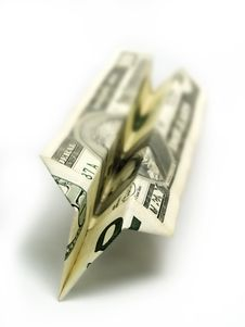 Free Wasting Money Stock Photography - 4591622