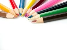 Free Color Pencils Royalty Free Stock Photography - 4591697