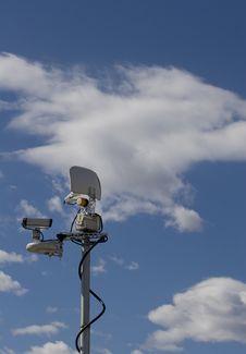 Free Microwave Transmitter Stock Image - 4591821