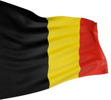 Free 3D Belgian Flag Royalty Free Stock Photo - 4592085