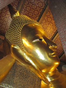 Free Reclining Buddha Royalty Free Stock Photos - 4592178