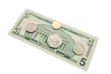 Free Dollar, Rubles And Pounts On White Stock Photo - 4592410