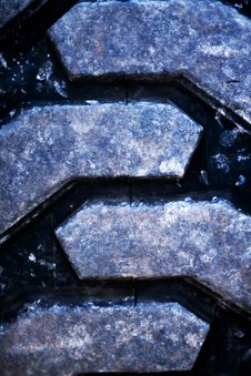 Free Tire Treads Royalty Free Stock Photo - 4592445