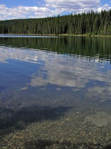 Free Calm Lake Reflects Sky Stock Photography - 4592752
