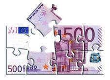 Free 500 Euro Banknote Puzzle Stock Photo - 4592820