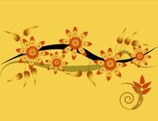 Free Floral Wave Stock Photos - 4592943