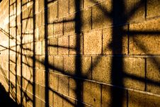 Free Frame Shadows On Wall Stock Photography - 4592962