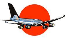 Free Jumbo Jet Plane Royalty Free Stock Image - 4593076