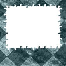 Free Teal Background Paintings Squares And Rhombus Royalty Free Stock Photos - 4593288