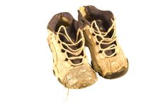 Free Old Sneakers Royalty Free Stock Images - 4593499