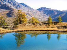Free Mountain Lake Reflections Stock Images - 4594684