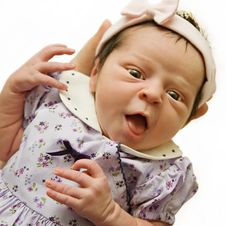 Free Alert Newborn Baby Royalty Free Stock Photography - 4594737