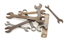 Free Vintage Wrenches Royalty Free Stock Image - 4594876