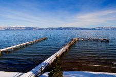 Free Lake Tahoe At Winter Royalty Free Stock Images - 4594879