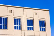 Free Blue Windows Royalty Free Stock Image - 4595216