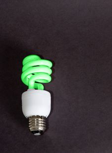 Free Green Power Light Stock Image - 4595451