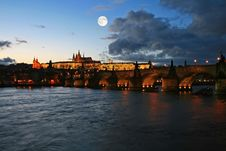 Free The Famous Prague Castle Royalty Free Stock Photo - 4595525