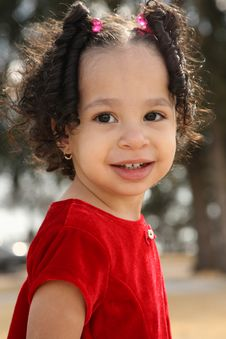 Free Multiracial Child Royalty Free Stock Photography - 4595887