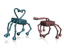 Free Robots Love Stock Image - 4596821